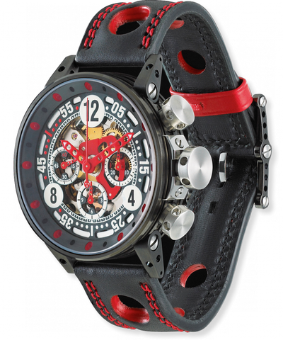 B.R.M Watch V12-44 Sport Red Hands
