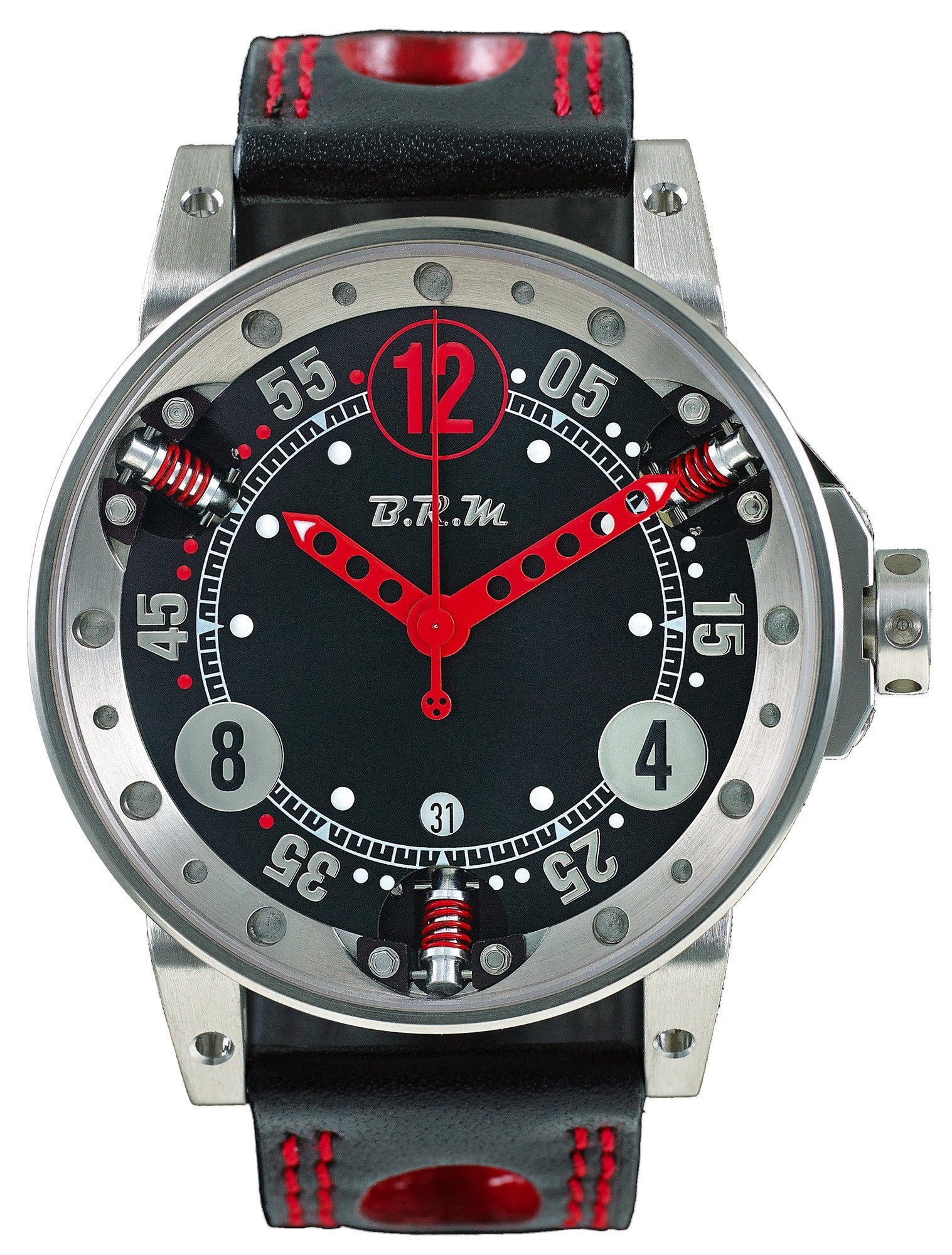 B.R.M. Watches V6-44-SA Red Hands