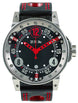 B.R.M. Watches V6-44-SA Red Hands V6-44-SA-AR