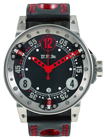 B.R.M Watch V6-44 Red Hands