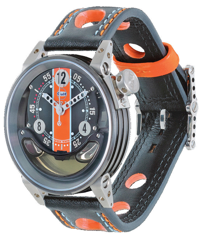 B.R.M Watch CNT-44-GULF Grey Hands Limited Edition