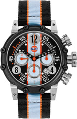 B.R.M. Watches BT12-46 Black Orange Hands Limited Edition
