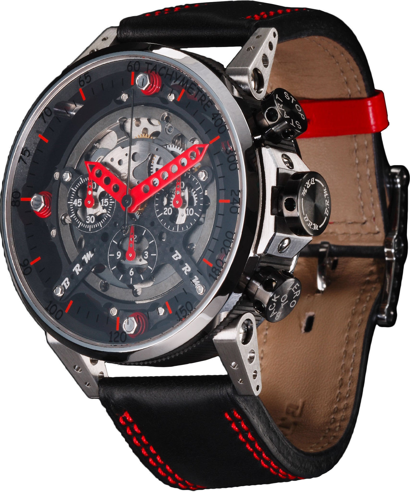 B.R.M Watch CT-48 Red Hands
