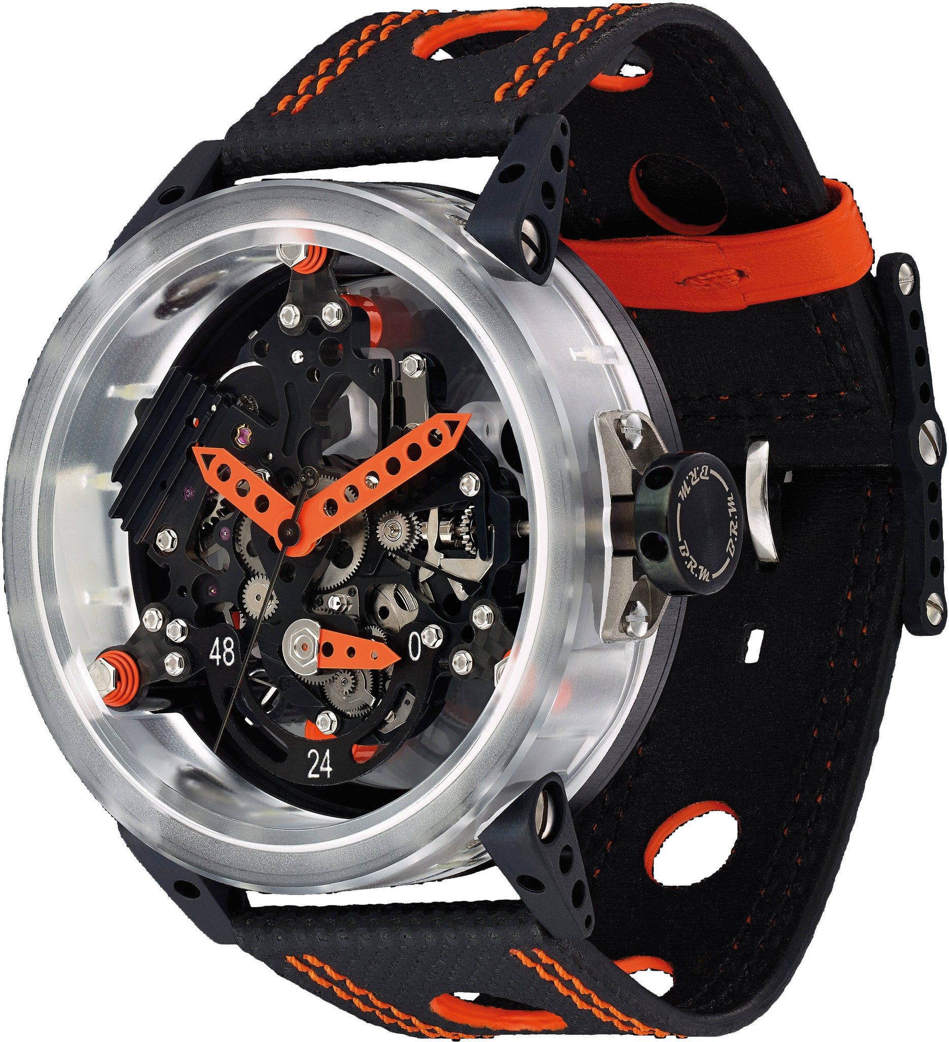 B.R.M. Watches R-50 Orange Hands