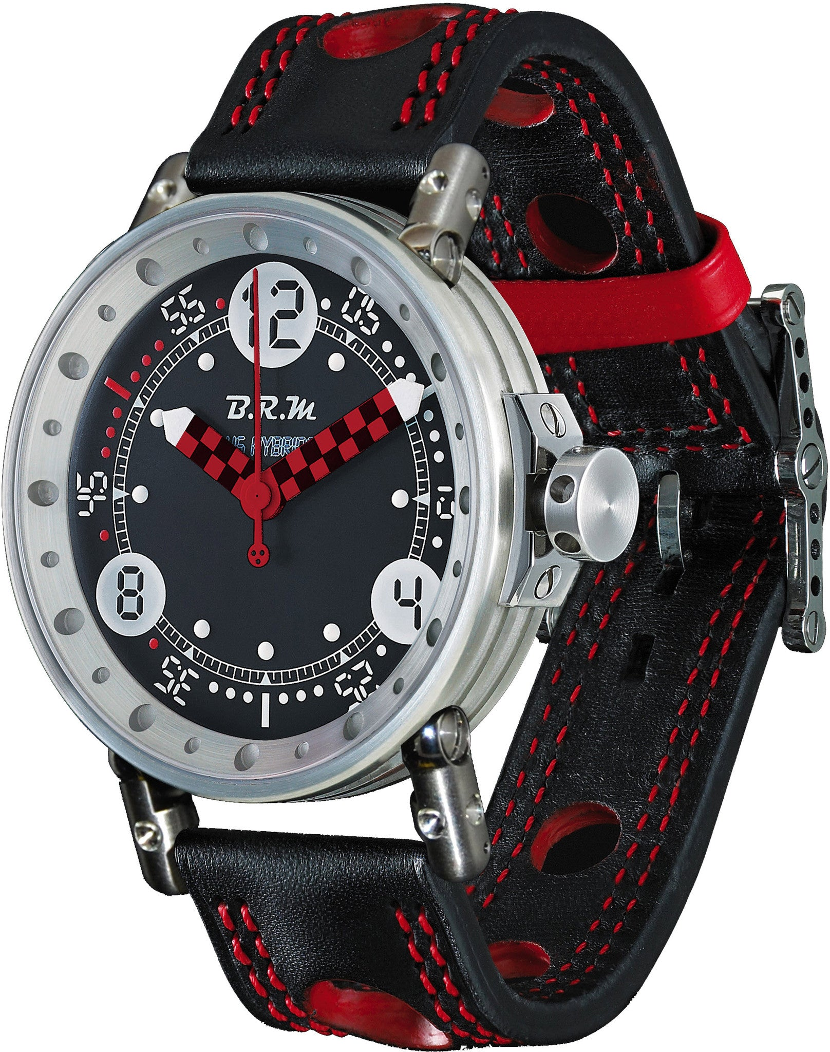 B.R.M Watch V6-44 HB Red Hands