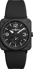 Bell & Ross Watch BRS Black Matt Quartz