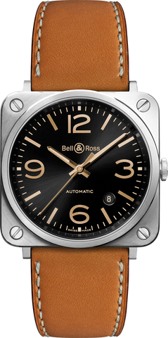 Bell & Ross Watch BRS Golden Heritage
