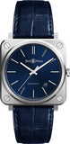 Bell & Ross Watch BR S Blue Steel BRS92-BLU-ST/SCR