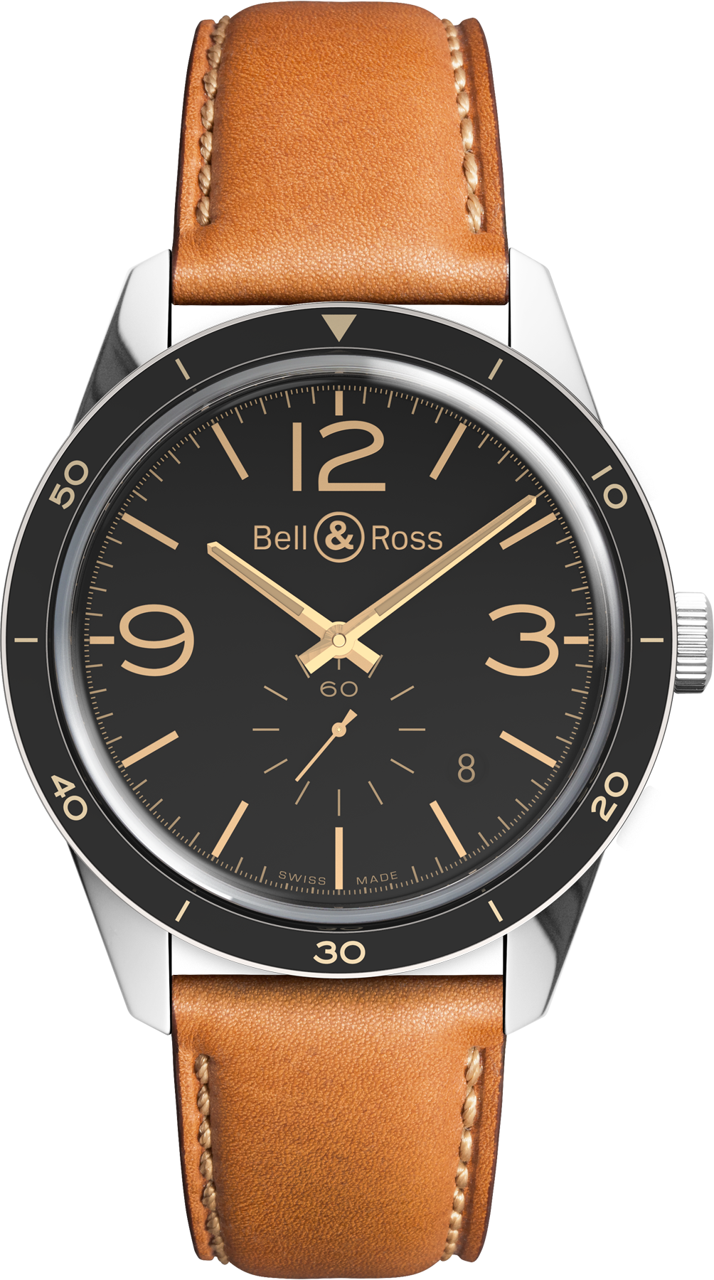 Bell & Ross Watch Vintage BR 123 Golden Heritage