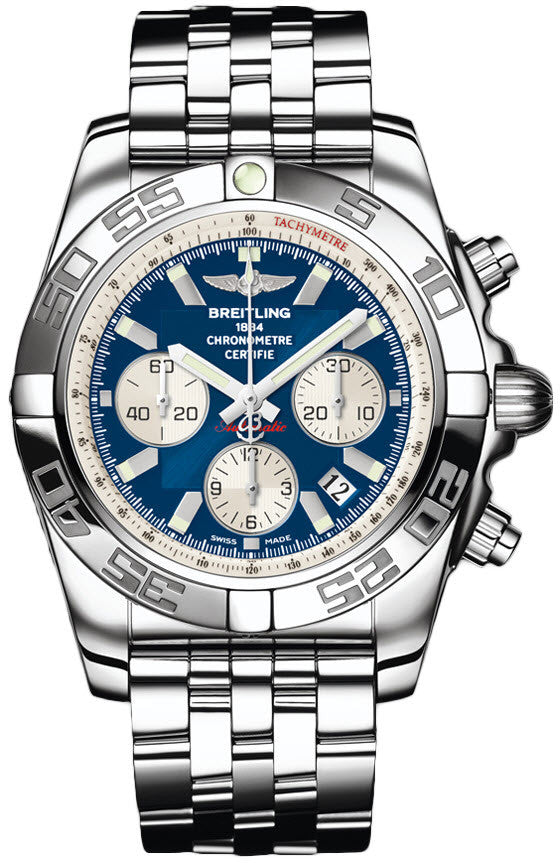 Breitling Watch Chronomat 44 Metallica Blue