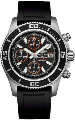 Breitling Watch Superocean Chronograph Abyss Orange
