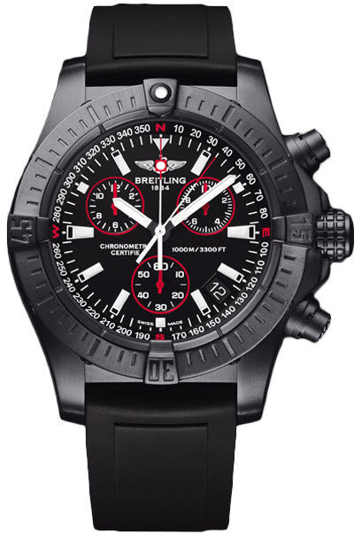 Breitling Avenger Seawolf Chrono Blacksteel Limited Edition