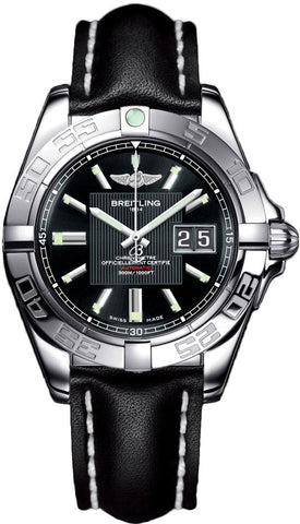 Breitling Watch Galactic 41 Trophy Black