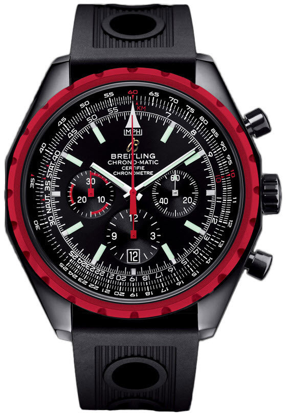 Breitling Chrono-matic Blacksteel