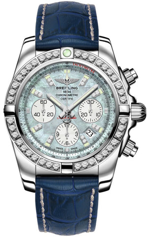 Breitling Watch Chronomat 44 Diamond Bezel