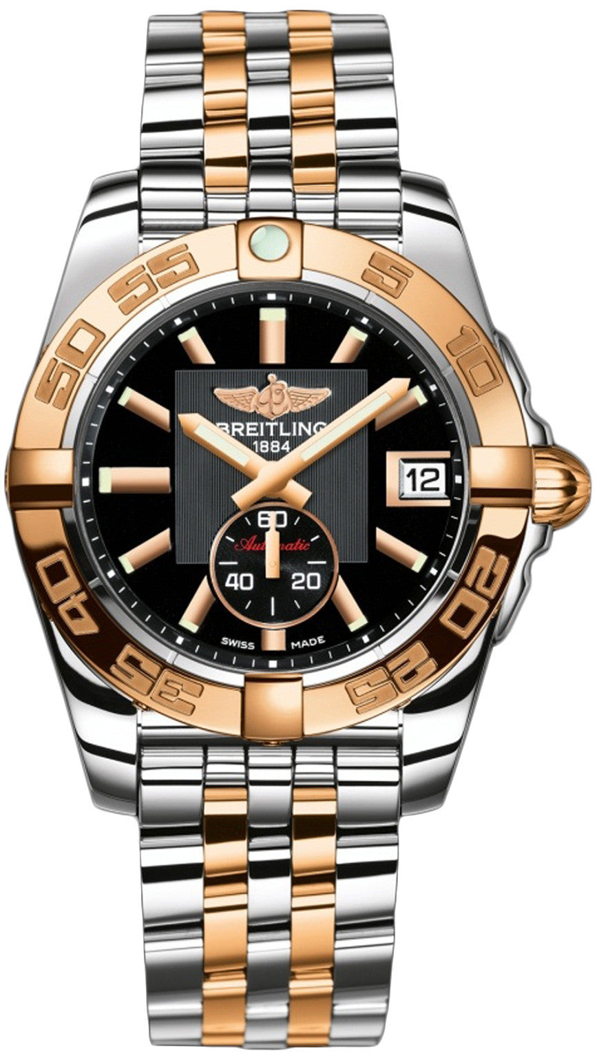 Breitling Watch Galactic 36 Automatic Two RTone Pilot Bracelet