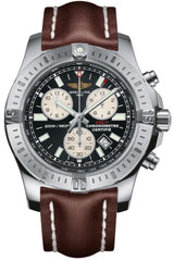Breitling Watch Colt Chronograph Leather Tang Type