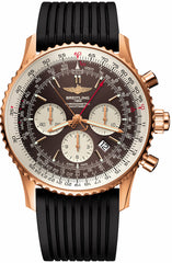 Breitling Watch Navitimer Rattrapante Limited Edition Red Gold