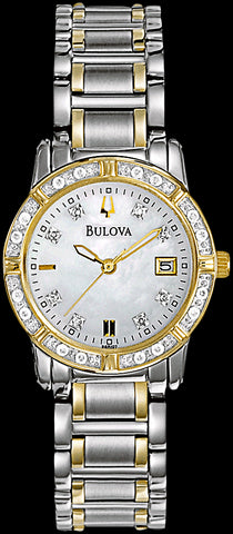 Bulova Watch Ladies Diamond Highbridge