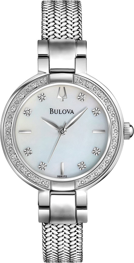 Bulova Watch Diamond