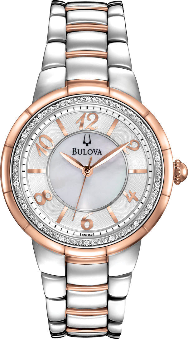Bulova Watch Rosedale Diamond Ladies