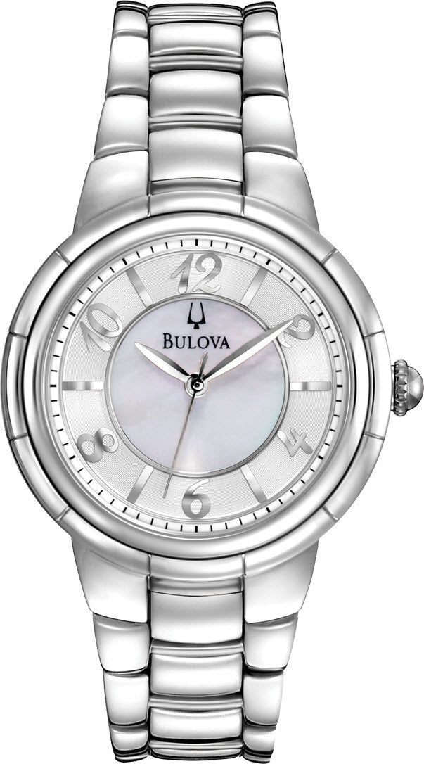 Bulova Watch Ladies Diamond Dress Rosedale
