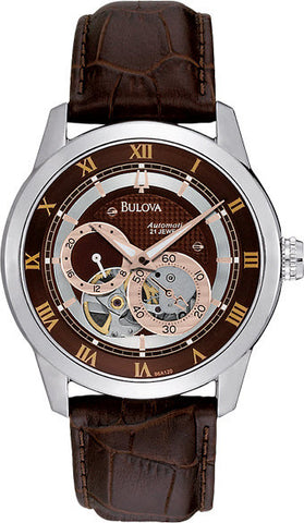 Bulova Watch Open Aperture Automatic