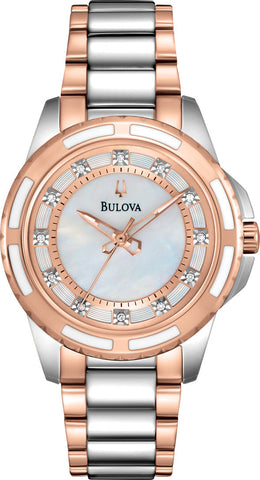 Bulova Watch Ladies Diamond