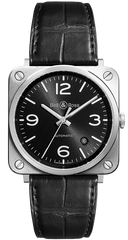 Bell & Ross Watch BRS 92 Officer Black