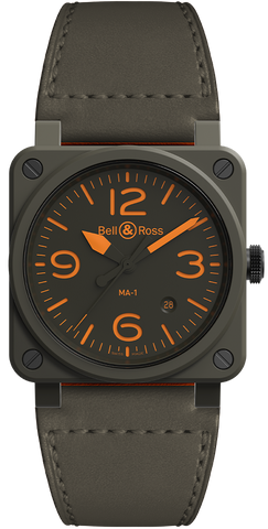 Bell & Ross Watch BR 03 92 MA-1 Limited Edition