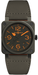 Bell & Ross Watch BR 03 92 MA-1 Limited Edition Pre-Order