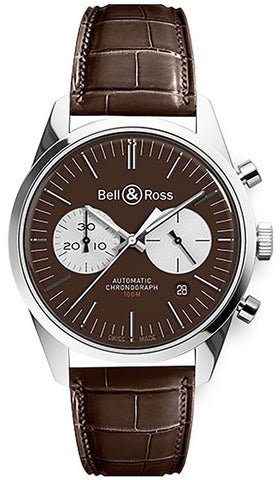 Bell & Ross Watch BR 126 Officer Brown Limited Edition