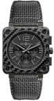 Bell and Ross Watch Carbon Fiber Phantom Limited Edition BR0194-CA-FIBRE-PH