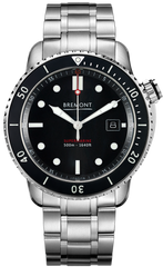 Bremont Watch Supermarine S500 Black Bracelet