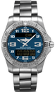 Breitling Watch Aerospace Evo Mariner Blue Titanium Professional III E79363101C1E1