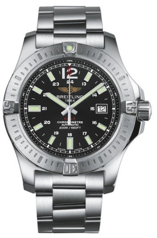 Breitling Watch Colt 44 Automatic Volcano Black