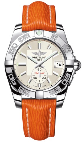 Breitling Watch Galactic 36 Automatic Stratus Silver