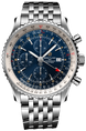 Breitling Watch Navitimer 1 Chronograph GMT 46 A24322121C2A1