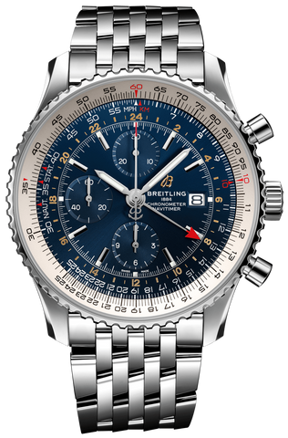 Breitling Watch Navitimer 1 Chronograph GMT 46 Steel