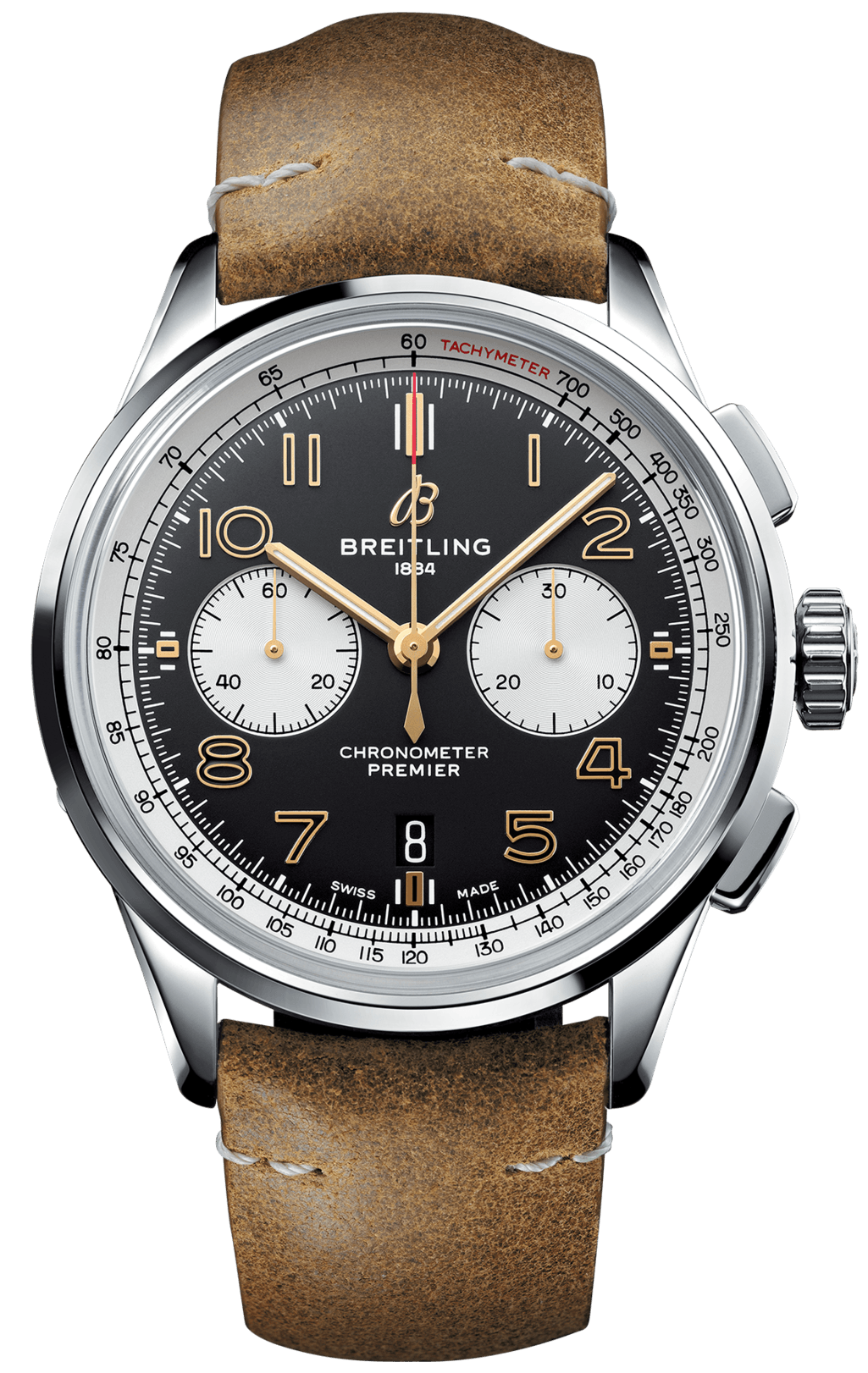 Breitling Watch Premier B01 Chronograph 42 Norton Edition Tang Type