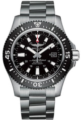 Breitling Watch Superocean 44 Special Steel Volcano Black