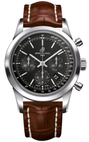 Breitling Watch Transocean Chronograph Black