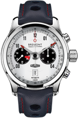 Bremont Watch Jaguar E-Type MKII White