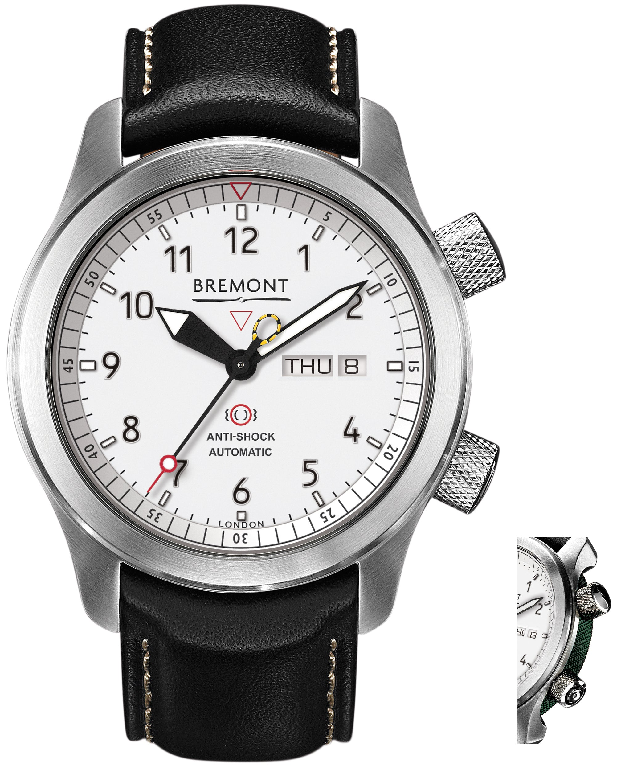 Bremont Watch Martin Baker MBII White Green