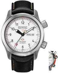 Bremont Watch Martin Baker MBII White Orange
