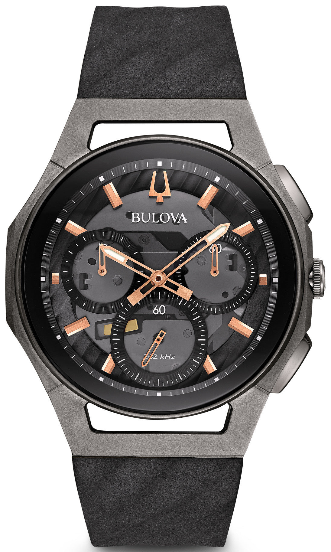 Bulova Watch Curv Chronograph Mens