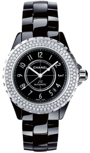 Chanel J12 Unisex Black Ceramic