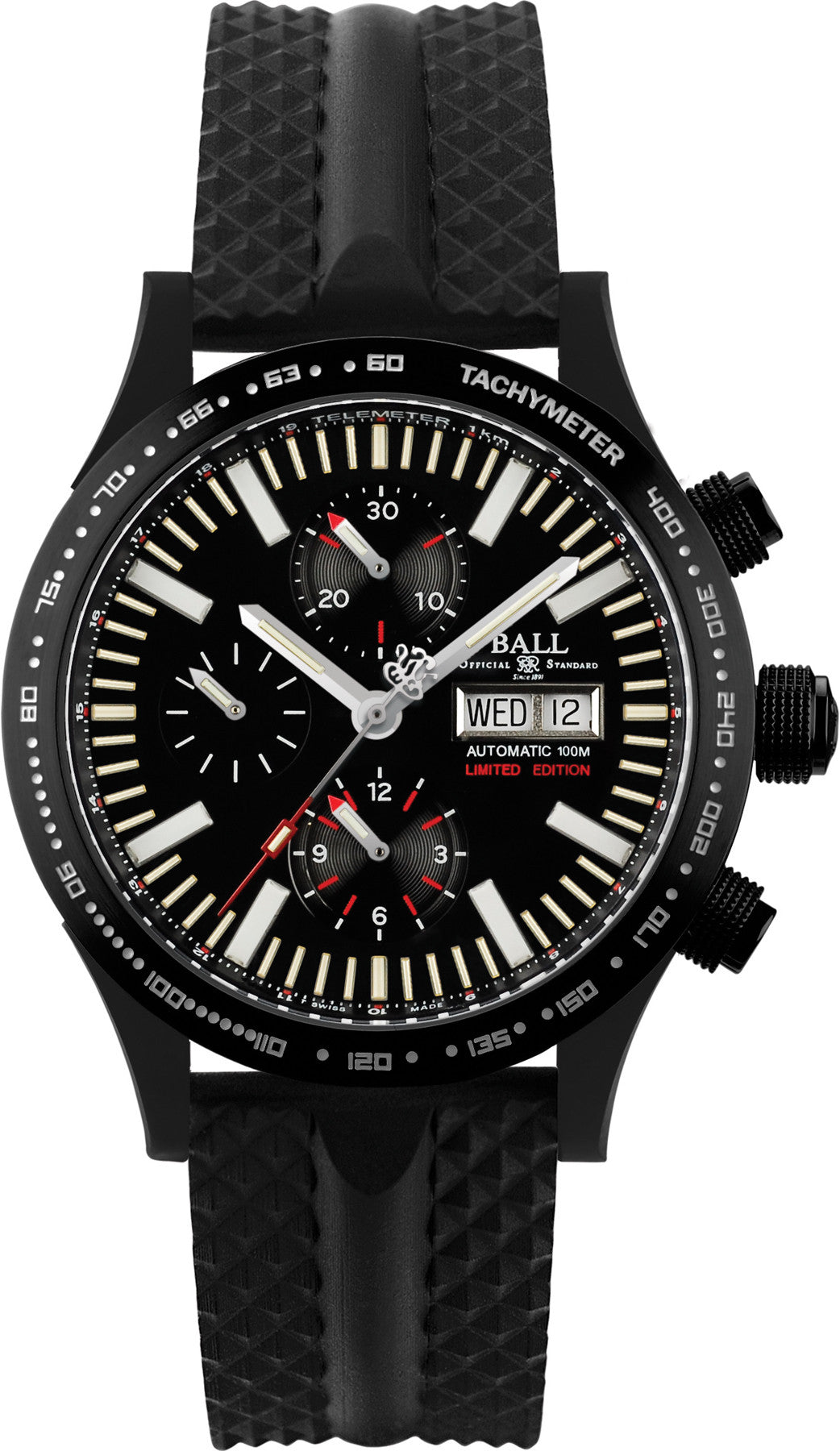 Ball Watch Company Fireman Storm DLC Glow