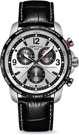 Certina Watch DS Podium Big Size Chrono 1/100 Sec Quartz