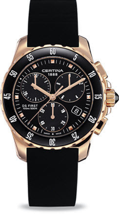 Certina Watch DS First Lady Ceramic Chrono Quartz